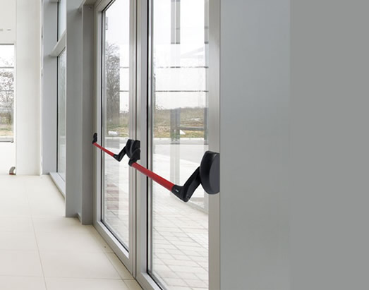 alumium glass door