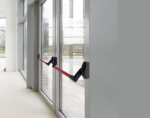 alumium glass door