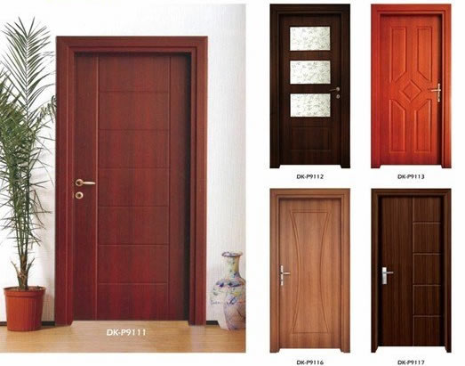 wooden door types in Lagos Nigeria