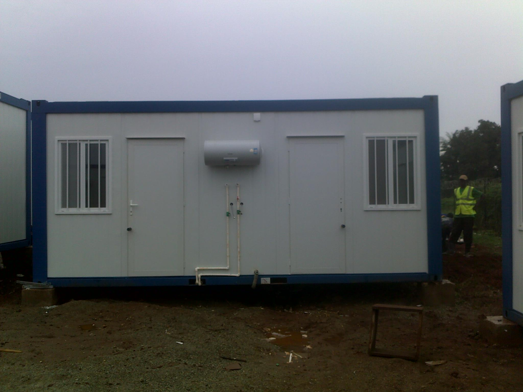 container structure abuja