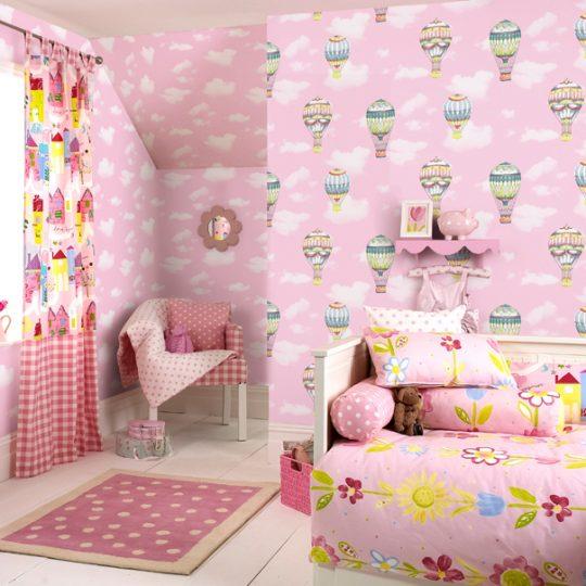 Children room wallpaper design